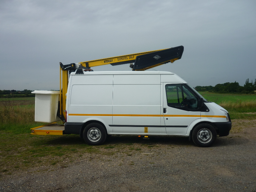 Ford Transit 350 Panel Van C/w 13m Access Platform Available For Immediate Hire