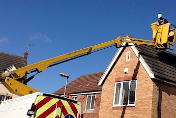 DID YOU KNOW WE OFFER OPERATED POWERED ACCESS/CHERRY PICKER HIRE?
